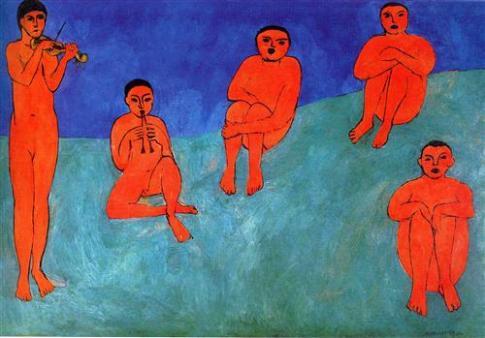 মিউজিক - অঁরি মাতিস ; প্রাপ্তিসূত্র - http://www.wikiart.org/en/henri-matisse/music-1910#close